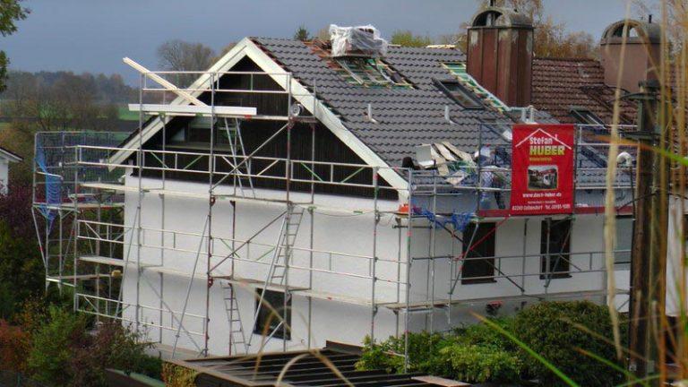 Referenzen Stefan HUBER: Dacheindeckung/Dachsanierung