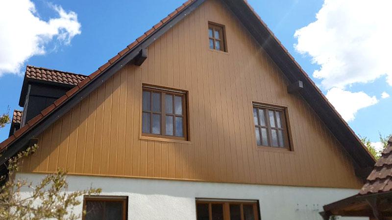 Referenzen Stefan HUBER: Spenglerarbeiten/Fassadenverkleidung